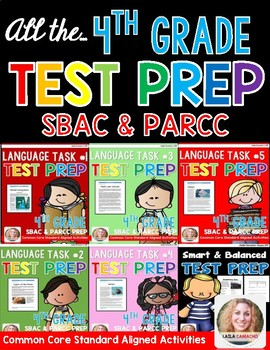 SBAC and PARCC Test Prep 4th Grade