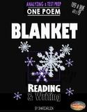 """Fig Lang: 1 PDF & Online POEM, """"Blanket""""  Imagery & Metaphor - Distance Learning"""