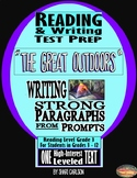 """SBAC Test Prep ~ 1 PDF Text, """"The Great Outdoors, Right?"""" ~ About 2 Kids Camping"""