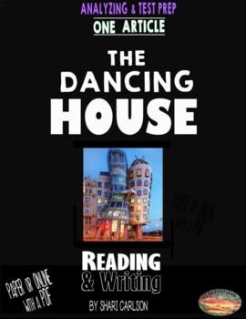 "SBAC Test Prep ~ 1 Text ""The Dancing House"" about a unique building"