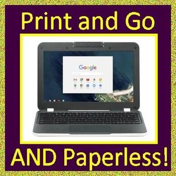 Smarter Balanced ELA Test Prep Bundle Gr 3-5 (SBAC) Complete Set Google Ready