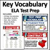 ELA Test Prep Vocabulary