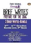 SBAC Test Prep 1 REVISE A BRIEF TEXT & 2 BRIEF WRITES~BUNDLE & Google Form