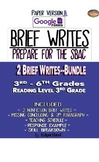 SBAC: REVISE A BRIEF TEXT (1) & BRIEF WRITES (2) ~ PDF & O