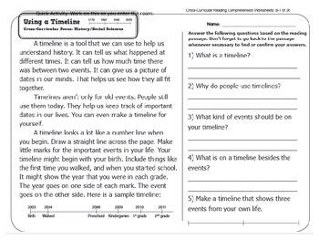 SBAC and Common Core aligned fiction lesson, 3rd grade