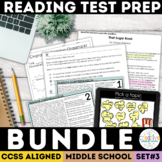 SBAC and PARCC Reading Test Prep Bundle