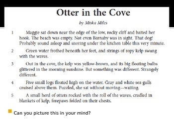 SBAC preparation 3rd grade ELA:Otter in the Cove