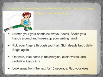 SBAC preparation lesson: ELA, fiction, 3rd grade (lesson 2)
