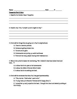 SBAC quiz for Tangerine Part 2