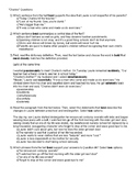 """SBAC-style questions for the short story """"Charles"""" by Shirley Jackson"""