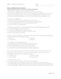 SBI4U - Population Dynamics Test