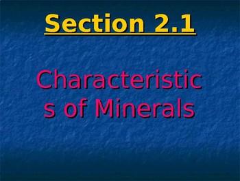 SC 8th Grade Minerals