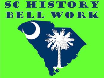 SC History Bell Ringer Part 3
