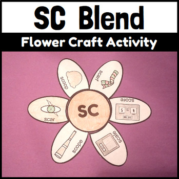 SC Blend Flower Craftivity