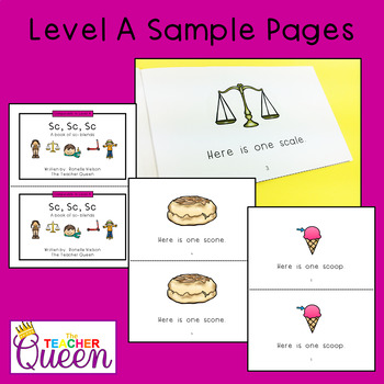 SC- Blend Readers Levels A and D (Printable and Projectable Books)