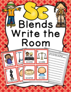 SC Blends Write the Room Activity