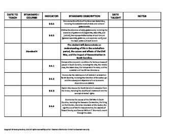 SC CCR standards:  ELA, Writing, and Social Studies - 3rd grade