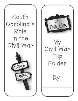 SC Civil War Lap Book