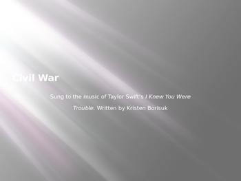 SC Civil War song 3rd grade standards