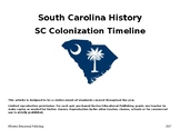 SC Colonization Timeline Activity
