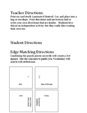 SC History (8-2.5) - Colonial Battles - Edge Matching Square Puzzle