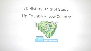 SC History: Up Country v. Low Country