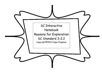 SC Interactive Notebook- Reasons for Exploration
