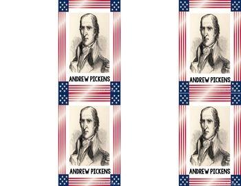 SC Key Leaders of the American Revolution {SC Social Studies Standard 3-3.3}