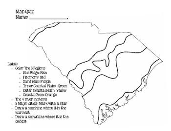SC Map Quiz