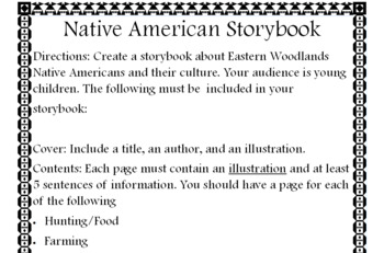 SC Native Americans Storybook Project