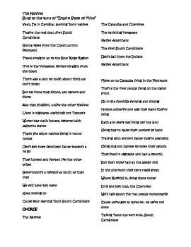 SC Native Lyrics