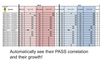 SC Pass Correlation Calculator