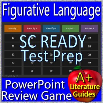 SC READY Test Prep Figurative Language Game for English Language Arts Grs. 5 - 8