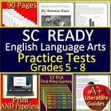 SC READY Test Prep Practice Bundle for English Language Arts Grades 5 - 8