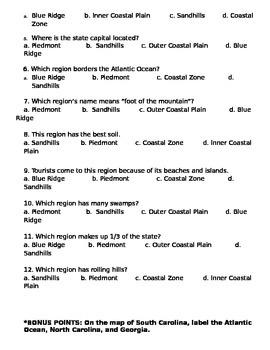 SC Regions Test