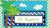 SC Regions Unit: Powerpoint, plans, exit slips, homework, study guide, and test
