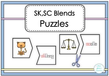 SK,SC Blends Puzzles
