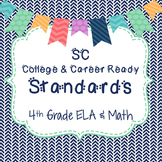 SC Standards 4th Grade Full Page Posters