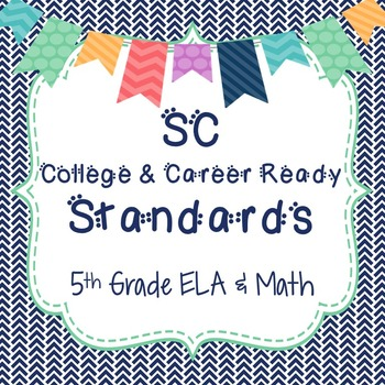 SC Standards 5th Grade Full Page Posters
