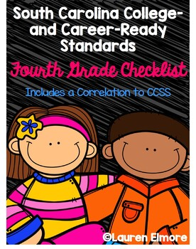 SC Standards Mastery Checklist and CCSS Correlation for Fourth Grade