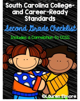 SC Standards Mastery Checklist and CCSS Correlation for Second Grade
