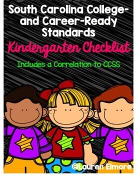 SC Standards Mastery Checklist and CCSS Correlation for Kindergarten