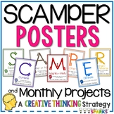 SCAMPER Posters Creative Thinking Posters
