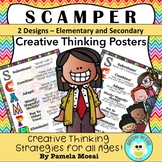 "Creative Thinking ""SCAMPER"" Posters!"