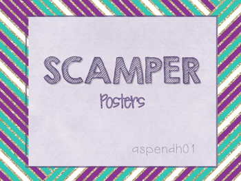 SCAMPER Posters