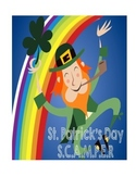 SCAMPER St. Patrick's Day - Shamrock, Pot of Gold & Hat