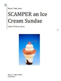 SCAMPER an Ice Cream Sundae