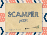 SCAMPER posters (tribal theme)