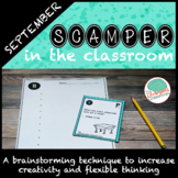 SCAMPER the Classroom: A Creative Brainstorming Choice Boa
