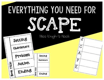 SCAPE Charts and Activities- Wit and Wisdom Story Elements